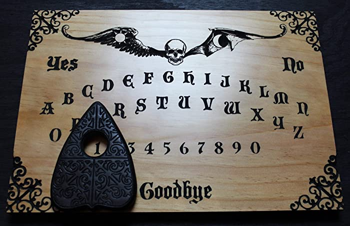 Amazoncom Madame Devallias Spirit Board Wood Carved Ouija Board
