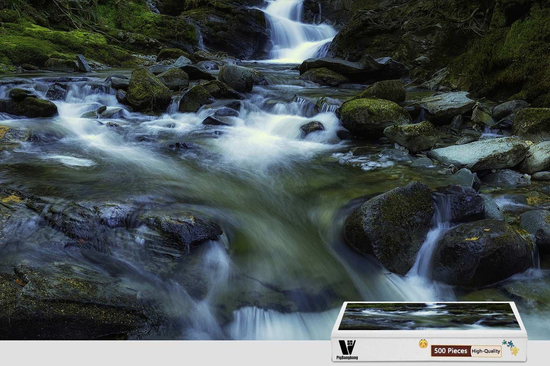 【WEB限定】 PigBangbang、20.6 - PigBangbang、20.6 X 15.1インチ、手作り知育ゲーム プレミアム木製 DIY ジグソーグルー - 素敵な絵画 - 山の滝 - 300ピース ジグソーパズル B07F822BC7, 大三島町:8e271d1d --- 4x4.lt