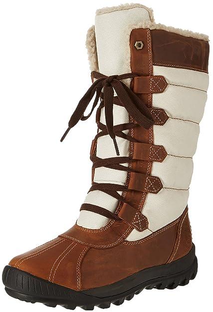 Timberland MT Hayes F/L Lace-Up WP, Botines para Mujer, Marrón (Mocha FGMOCHA Bisque FG), 38.5 EU: Amazon.es: Zapatos y complementos
