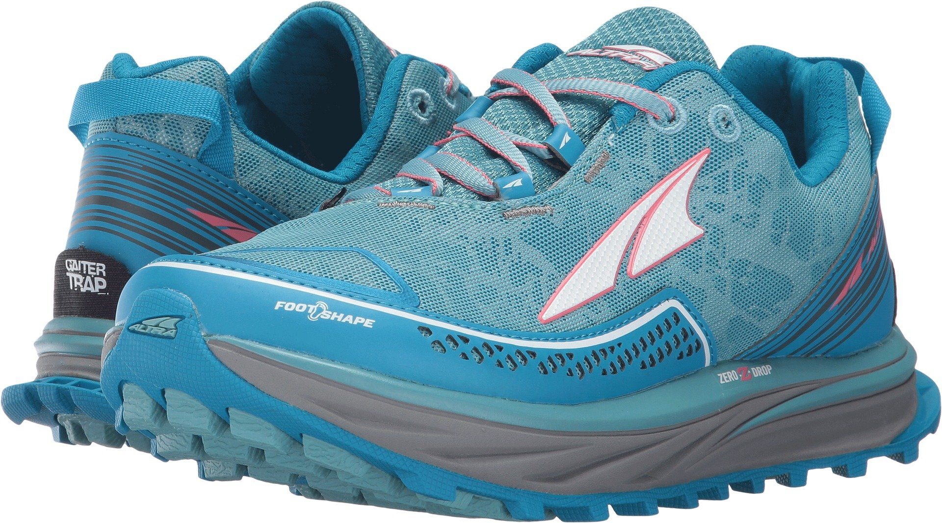 Altra Timp Trail Running Shoes - Womens Blue 5.5