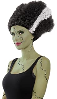 Party King Womens Monster Bride Costume Wig