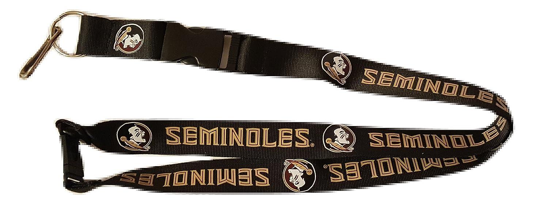 NCAA Florida State Seminolesチームランヤード、ブラック B00UVQORCK