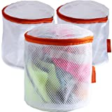 Delicates Set of Larger 3 Laundry BRA Washing Bags, Premium Quality: Lingerie Bags for Laundry,bra, Hosiery, Stocking, Underwear & Lingerie and for More Washing Bag Set