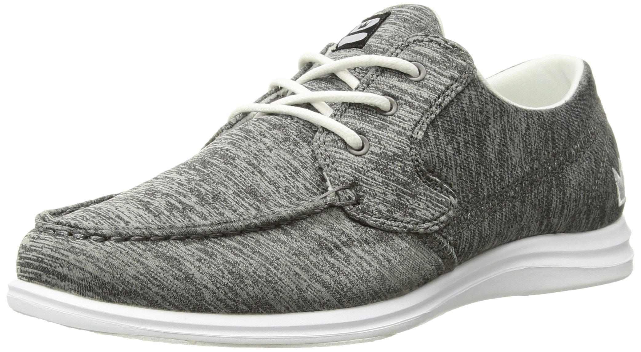Brunswick Ladies Karma Bowling Shoes- Grey/White, 8.5