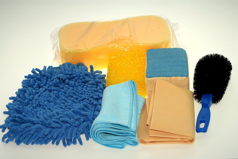 Autowaschset 7teilig mit Tasche und hochwertigen Produkten