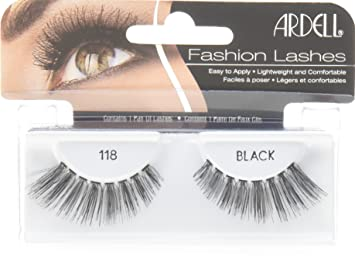 Natural 118 Black Lashes 65091 by ardell #10