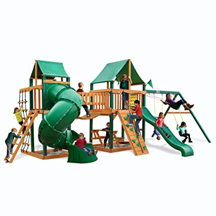 Amazon Com Gorilla Playsets Savannah Ii Swing Set Other Products