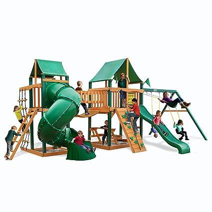 Amazon Com Gorilla Playsets Savannah Ii Swing Set Other Products