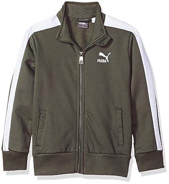 ebfb027c1e05 Amazon.com  PUMA Boys  T7 Track Jacket  Clothing
