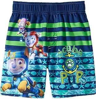 8d1811c1c8552 Amazon.com: Nickelodeon Toddler Boys' Paw Patrol Swim Trunk: Clothing