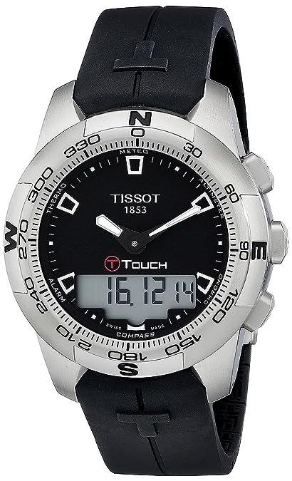 Tissot Tissot T-Touch II II Mens Analógico-Digital Reloj T0474201705100: goldia: Amazon.es: Joyería