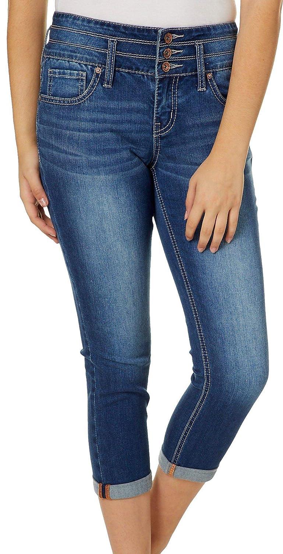 85c70f0ece2 Amazon.com: Hydraulic Juniors Faded Denim Crop Jeans: Clothing