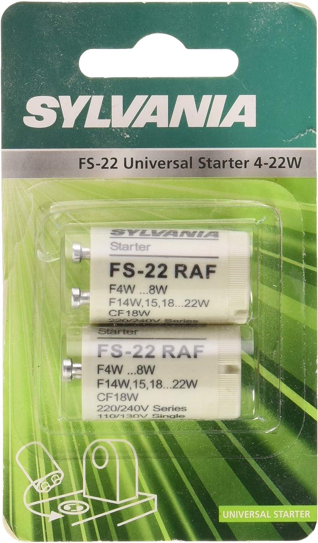 Sylvania FS-22 Raf 4-22W Fluorescent T8 Tube Démarreur Interrupteur FS2 4w 22w