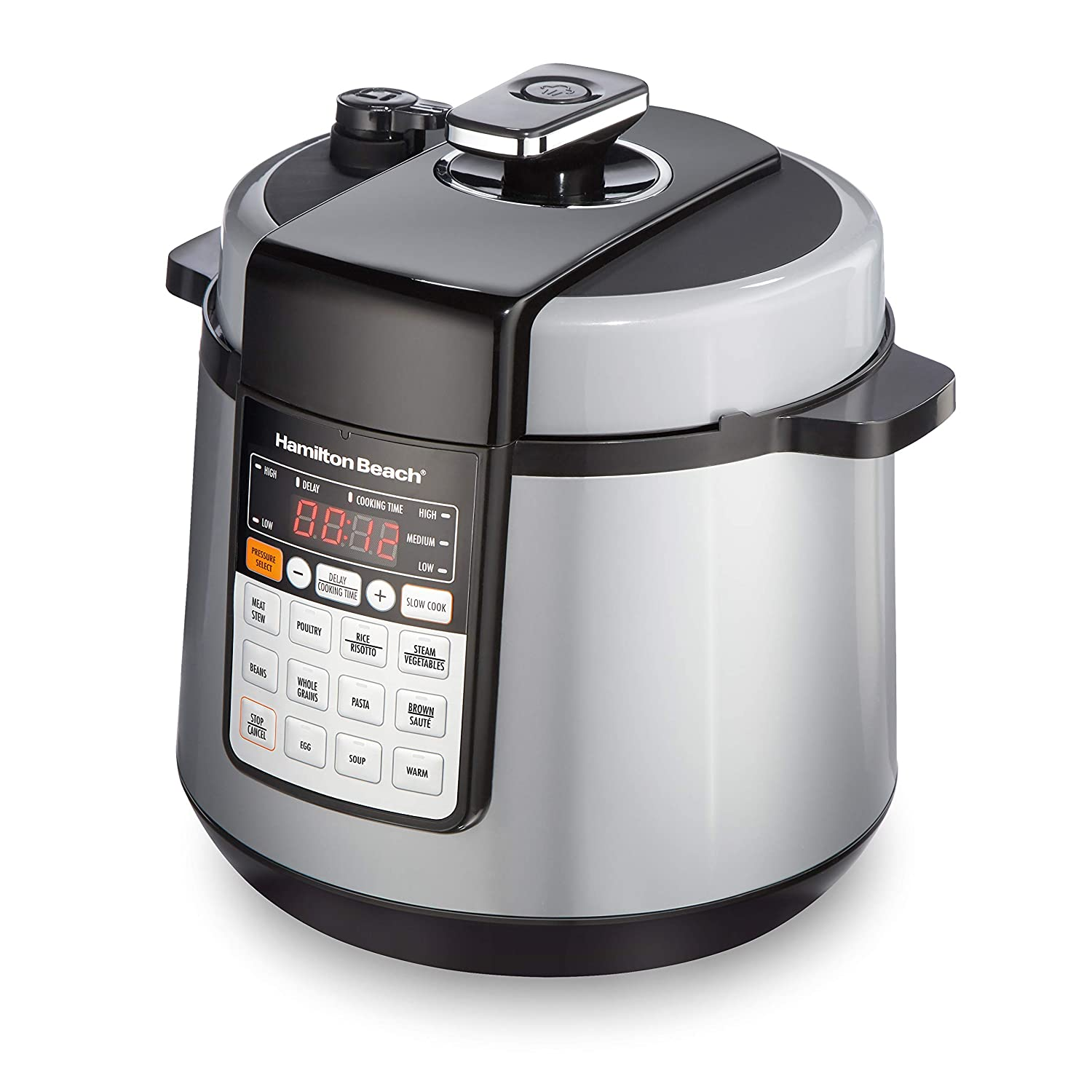Hamilton Beach 34500 Multi-Function Pressure Cooker 6 quart Stainless