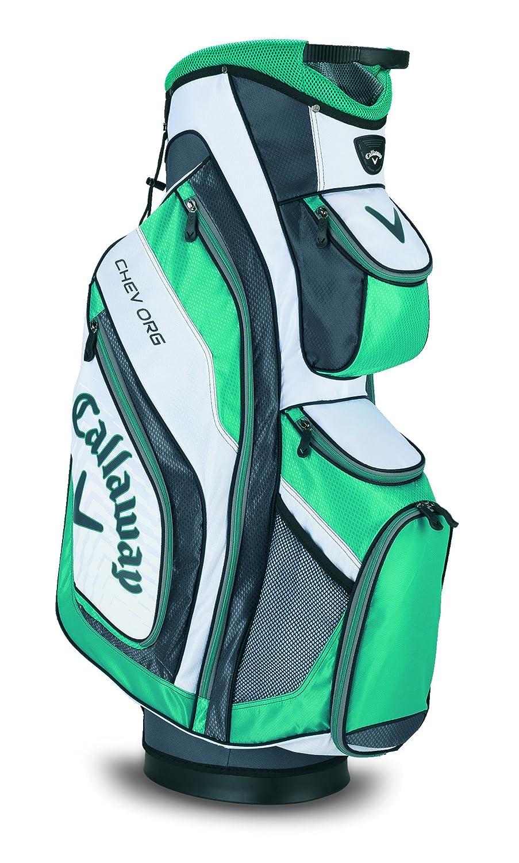 Callaway Chev Org - Bolsa de carro de golf, color Blanca/Aqua/Charcoal: Amazon.es: Deportes y aire libre