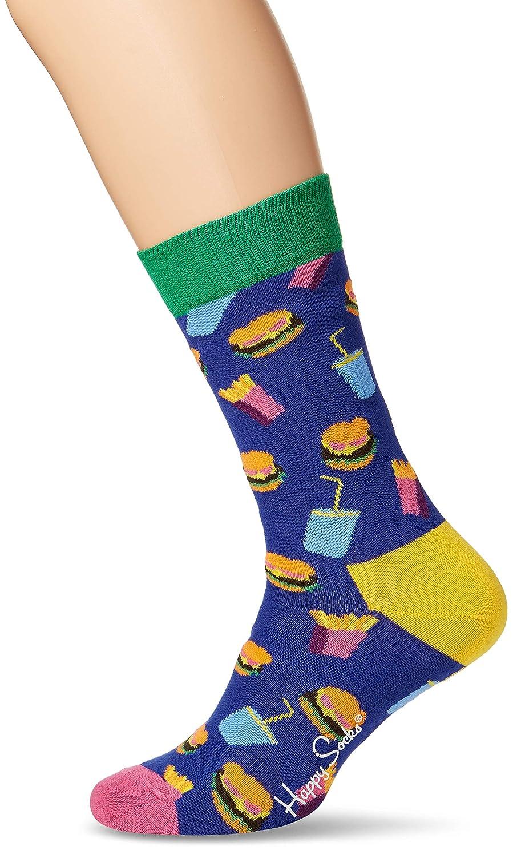 Happy Socks Unisex Freizeitsocken Hamburger Sock