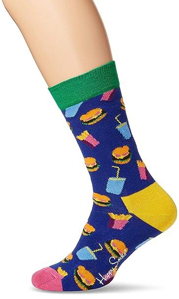 migliori offerte su negozio online offerte esclusive Happy Socks Hamburger Sock Calze, Uomo: Amazon.it: Abbigliamento