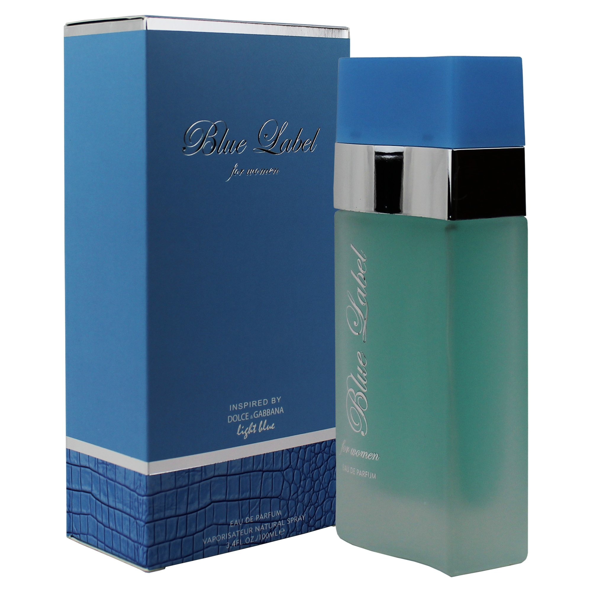 394dbbf7b1fefc Inspired By Light Blue By Dolce   Gabbana, Blue Label Perfume For Women -  3.4