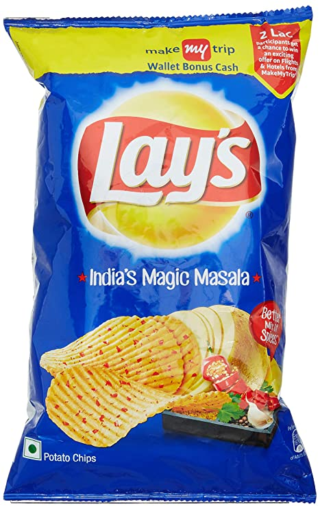 Lays Potato Chips Indias Magic Masala Party Pack 167 G Amazon