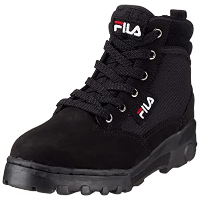 FILA Grunge Mid MB00315U Boots Nubuk leather, black2, Size ...