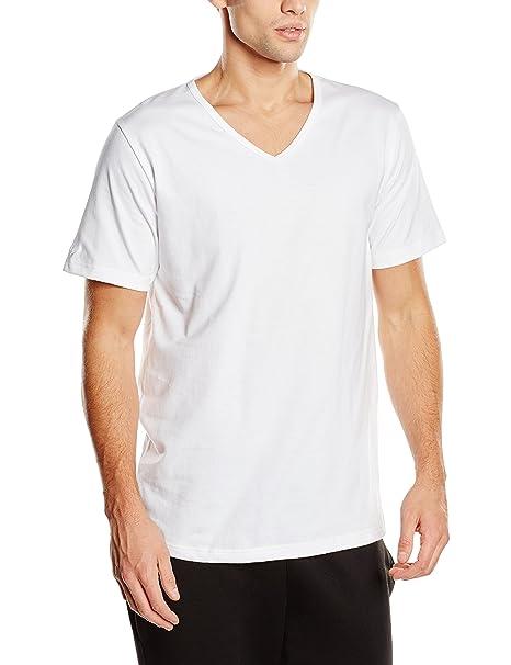 Trigema Camiseta Hombre Blanc - Weiß (Weiss C2C 501) Small