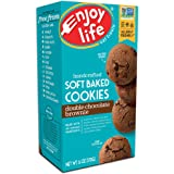Enjoy Life Soft Baked Cookies, Soy free, Nut free, Gluten free, Dairy free, Non GMO, Vegan, Double Chocolate Brownie, 1…