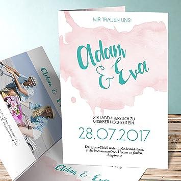 Hochzeitseinladungen Selbst Gestalten Himmlisch 40 Karten