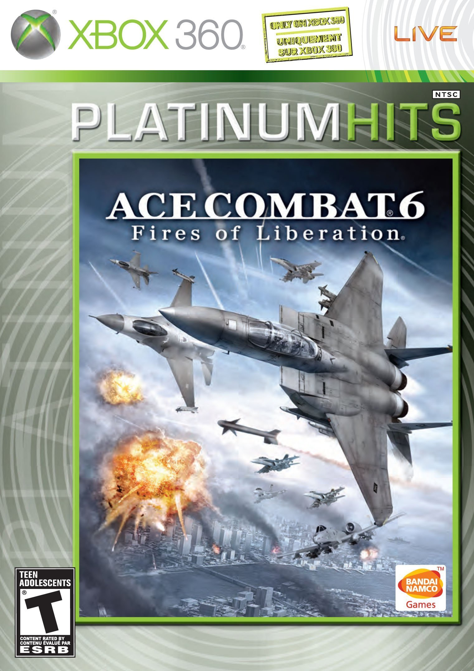 Ace Combat 6: Fires of Liberation (Platinum Hits) by Bandai (Image #1)