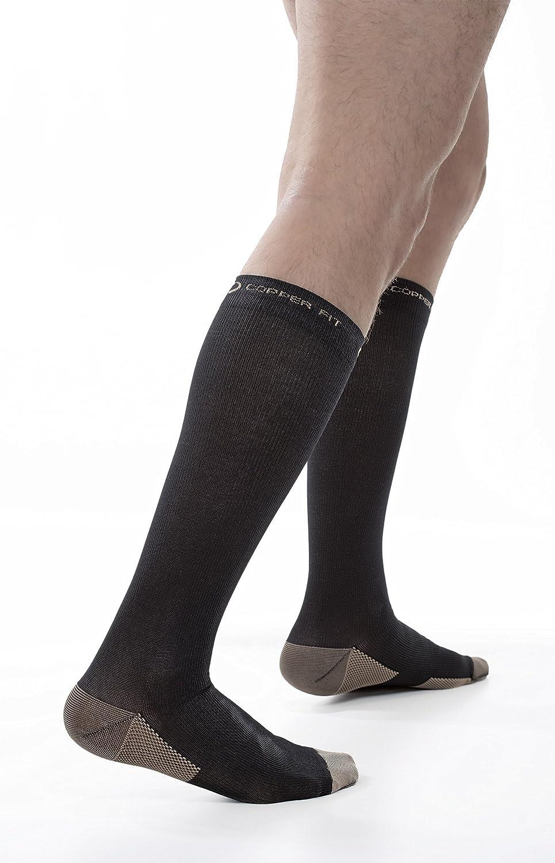Hemlock Unisex Sports Calf Sleeve Leg Compression Socks for Shin Splint Calf Brace Support for Calf Pain Relief