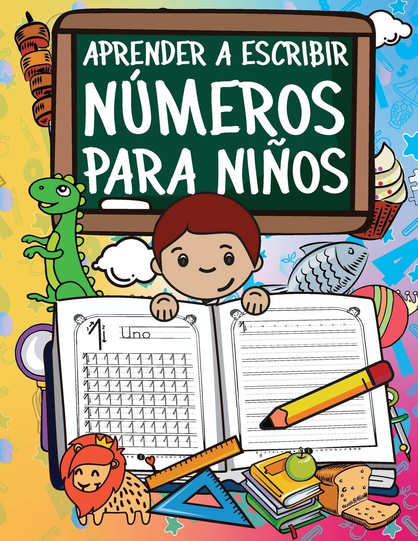 Aprender A Escribir Números Para Niños: Primeros Ejercicios De ...