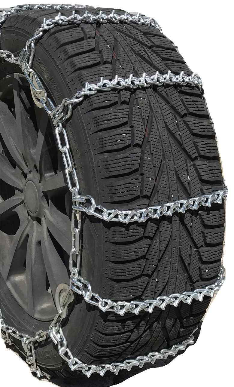 Security Chain Company QG2828 Quik Grip V-Bar Light Truck LRS Tire Traction Chain Non Cam - Set of 2