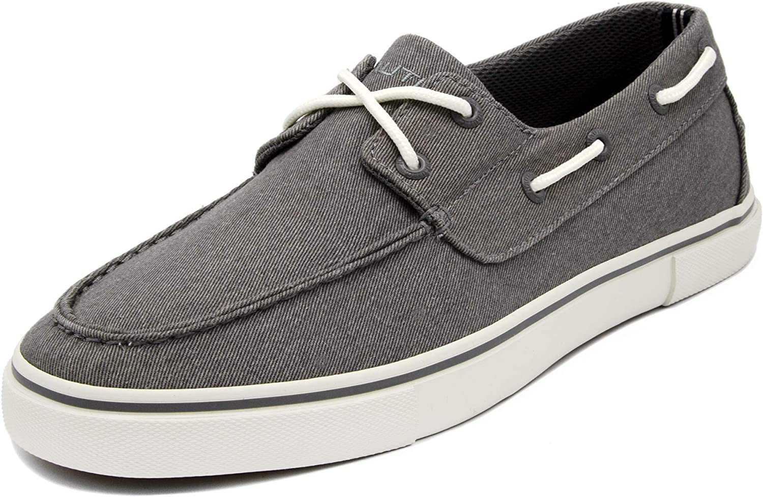 Nautica Men's Galley Lace-Up Boat Shoe,Two-Eyelet Casual Loafer, Fashion Sneaker