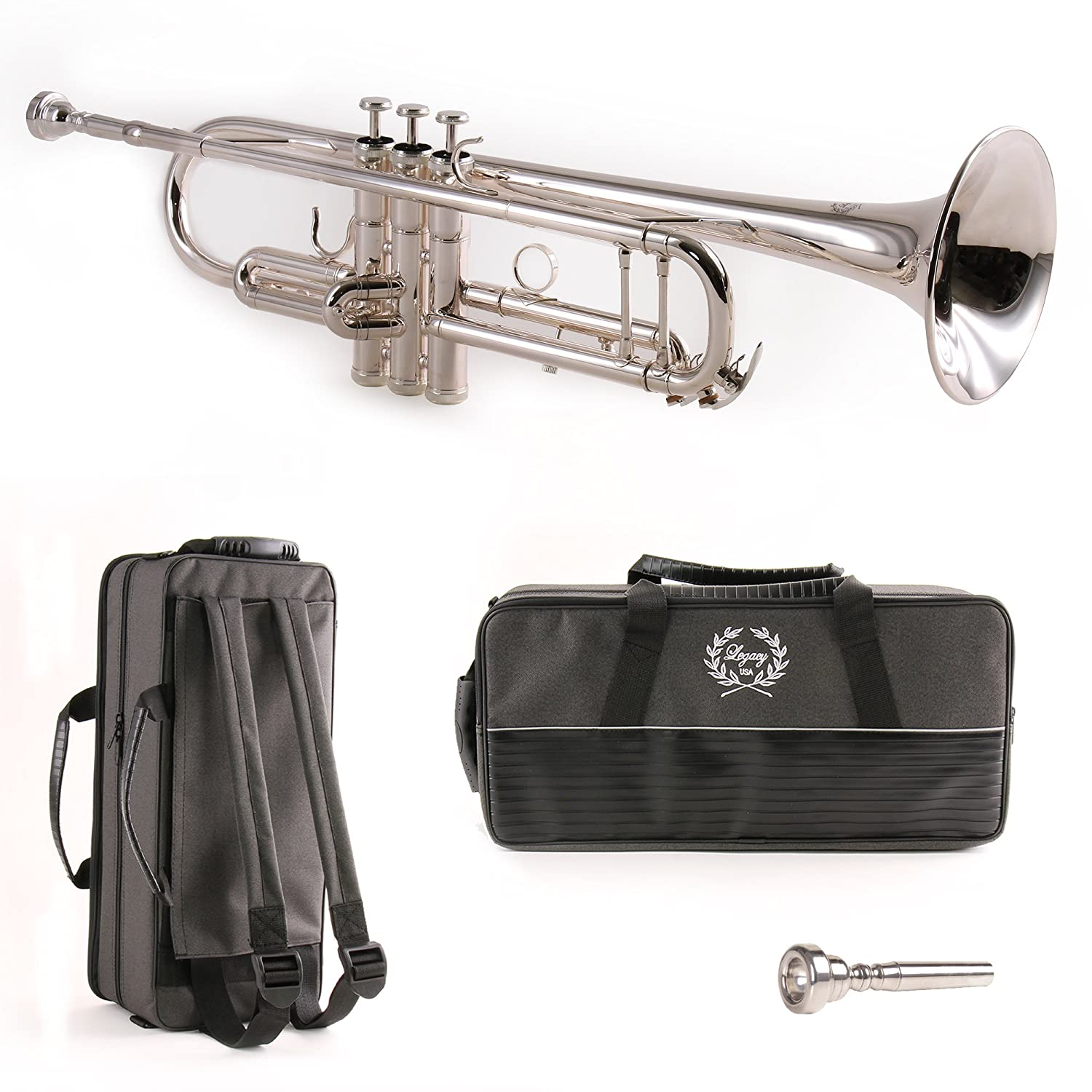 Legacy Silver Plated Intermediate Trumpet TR750S The Instrument Store