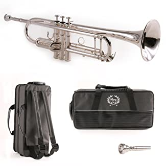 Legacy Silver Plated Intermediate Trumpet TR750S