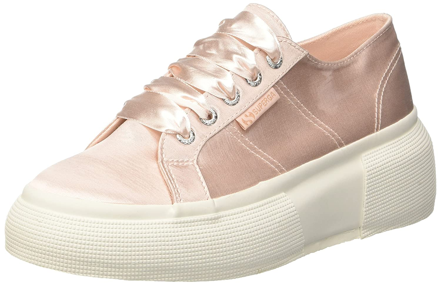 Superga 19997 2287-Satinw, Baskets Femme Femme (Rose Rose (Rose 914) 49554a3 - digitalweb.space