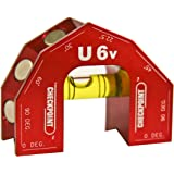 CHECKPOINT 0610R U6 V-Groove Level, Red