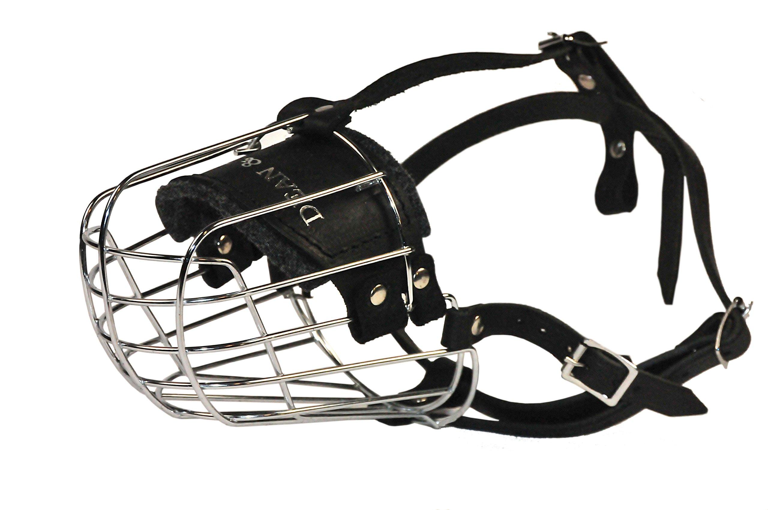 Dean and Tyler Wire Basket Muzzle, Size No. 9 - German Shepherd
