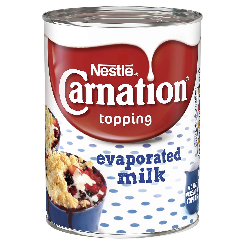 Leche Evaporada Carnation Lata 410G: Amazon.es: Alimentación y bebidas