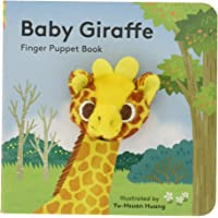 Baby Giraffe: Finger Puppet Book: (Finger Puppet Book for Toddlers and Babies, Baby Books for First Year, Animal Finger…