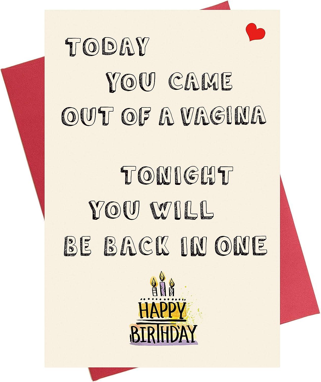 Amazon Com Funny Birthday Card For Him Birthday Card For Boyfriend Beau Cheeky Naughty Birthday Card For Husband Fiance Office Products