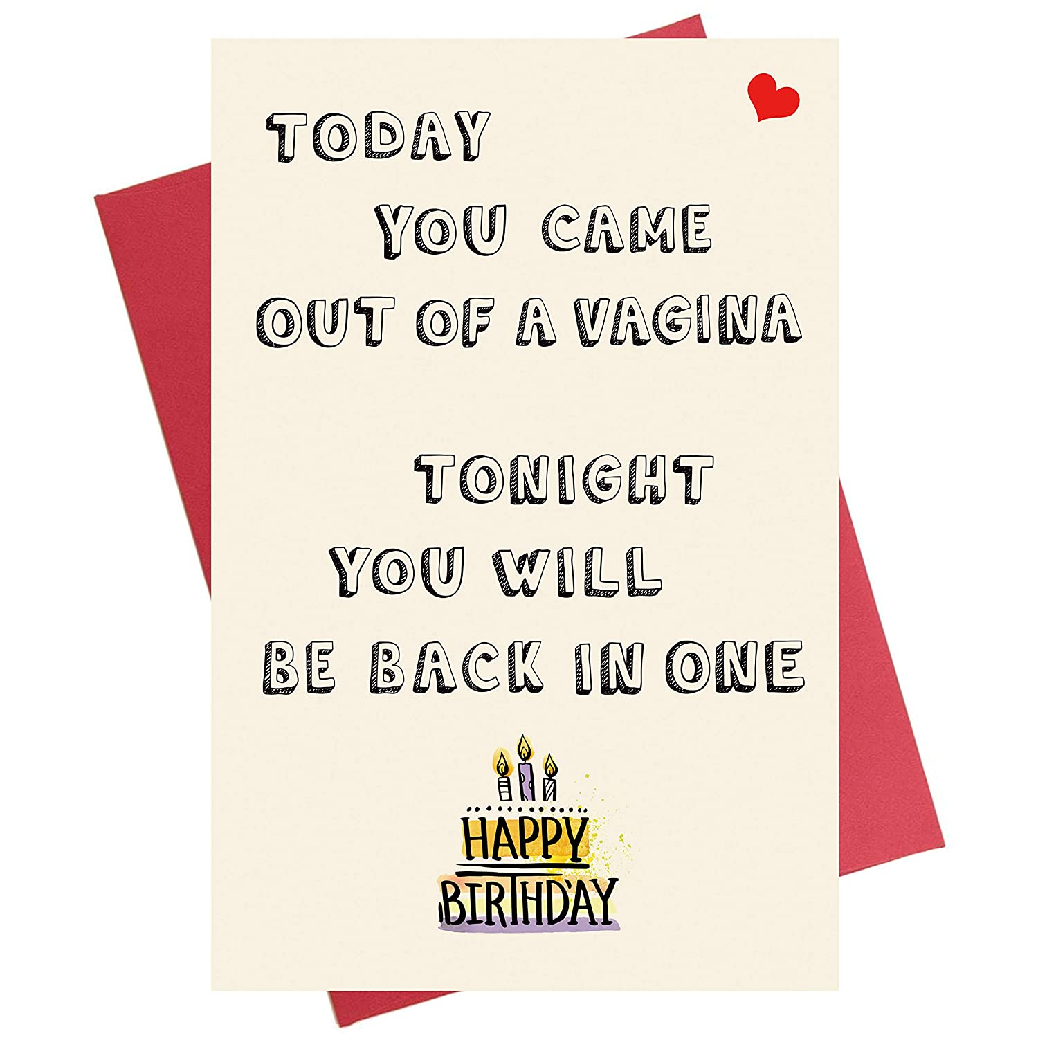 Amazon Funny Birthday Card For Him
