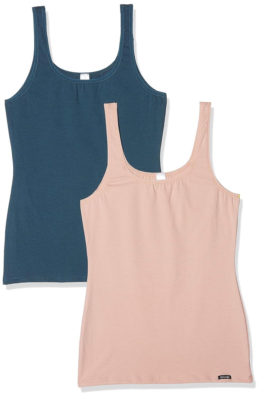Skiny Damen Unterhemd, 2er Pack
