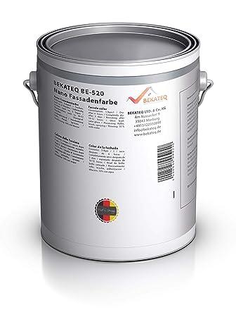 Gut gemocht BEKATEQ BE-520 Nano Fassadenfarbe, 1l Weiß, Wandfarbe in WI81