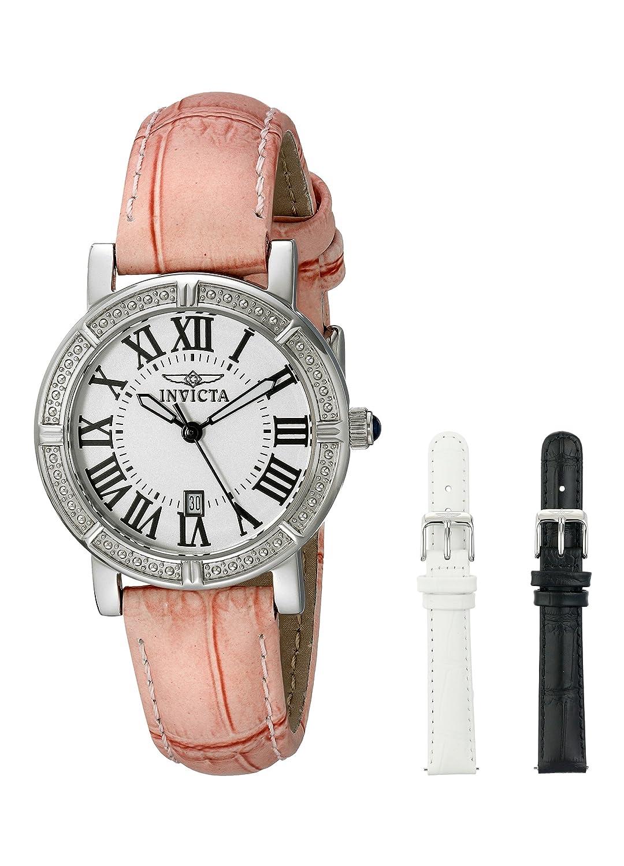 Invicta Women s 13967 Wildflower Stainless Steel Watch with Interchangable Straps