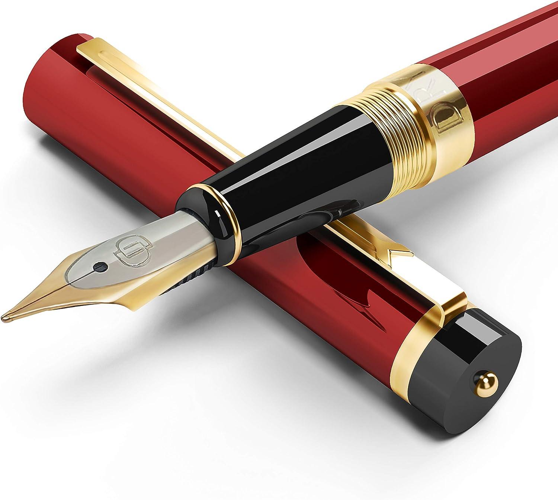never used an 18k -750 golden nib. kept in box SALE***Vintage Waterman Fountain Pen