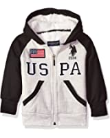 U.S. Polo Assn. Boys' Sherpa Lined Thermal Hoodie