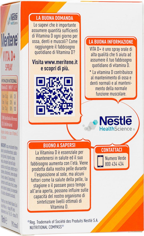 Meritene Vita D+ Spray 18ml: Amazon.es: Salud y cuidado personal