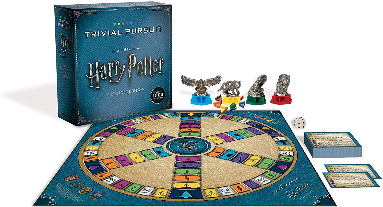 USAopoly World of Harry Potter Ultimate Ultimativ Edition Trivial ...