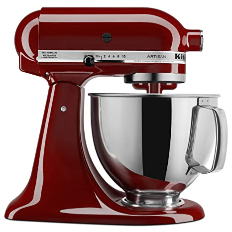KitchenAid KSM150PSGC Artisan Series 5-Qt. Stand Mixer with Pouring Shield  - Gloss Cinnamon