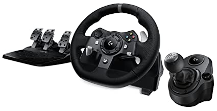 4472f62cf21 Image Unavailable. Image not available for. Color: Logitech G920 Driving  Force Racing Wheel ...